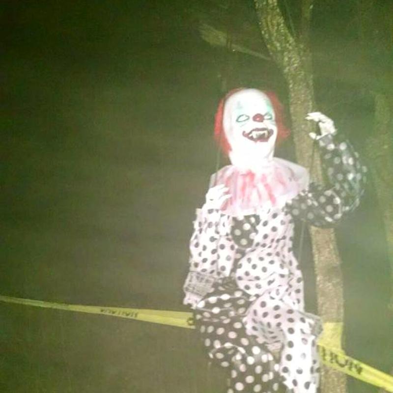 Demon child clown
