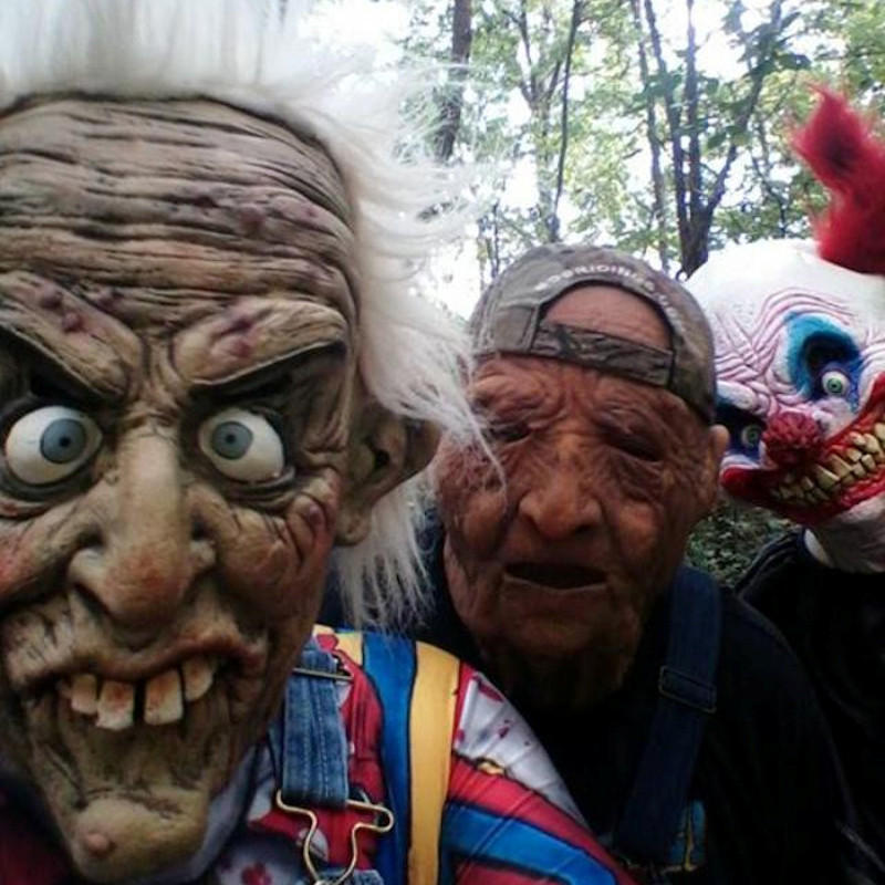 Haunted Woods Clowns