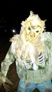 terrifying scarecrow