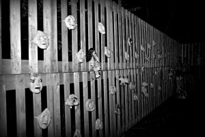 Wall of Scary Doll Faces